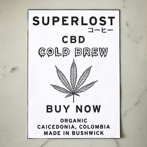 Bushwick's Superlost Coffee Launches First Ready-to-Drink CBD Cold Brew